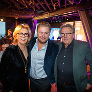 NLD/Amsterdam/20181206 - CD Trots presentatie Wesly Bronkhorst, met zijn ouders