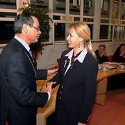 Afscheid raadlseden gemeente Huizen, KO Johanna Visser - Rebel