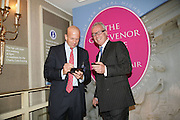 TEKIN FUAD AND NEIL FRANKLIN,  Grosvenor House Art & Antiques Fair charity gala evening in aid of Coram Foundation. Grosvenor House. Park Lane. London. 14 June 2007.  -DO NOT ARCHIVE-© Copyright Photograph by Dafydd Jones. 248 Clapham Rd. London SW9 0PZ. Tel 0207 820 0771. www.dafjones.com.