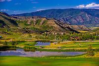 Snowmass Club golf course, Snowmass Village (Aspen), Colorado USA.