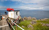 ARDNAMURCHAN (Schotland) - Vuurtoren met misthoorn op het meeste westerlijke punt van het vaste land van Groot Brittannie. COPYRIGHT KOEN SUYK