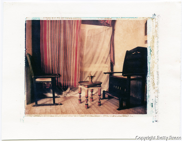 Main living room in the Swahili House Museum, Lamu, Kenya<br /> Image size 4x5, Matted 12x10 Edition of 25 <br /> Archival Pigment Print