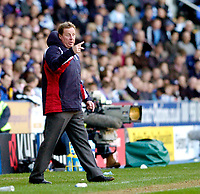 Photo: Leigh Quinnell.<br /> Reading v Portsmouth. The Barclays Premiership. 17/03/2007. Portsmouth boss Harry Redknapp on the touch line.