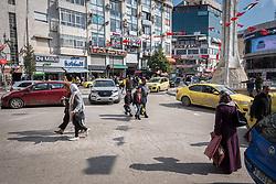 27 February 2020, Ramallah, Palestine: Daily life in central Ramallah.
