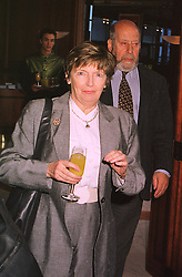 SIR CLEMENT & LADY FREUD at a luncheon in London on 31st January 1999.MNR 32