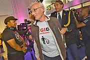 Nederland, Arnhem, 1-9-2017Ahmed Marcouch is beedigd als burgemeester van de stad, proviciehoofdstad van Gelderland. De ceremonie werd verstoord door een drietal aanhangers van Pegida die dmv fluitjes hun ongenoegen kenbaar maakten.Foto: Flip Franssen