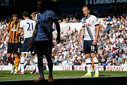 Harry Kane of Tottenham Hotspur looks on - Photo mandatory by-line: Rogan Thomson/JMP - 07966 386802 - 16/05/2015 - SPORT - FOOTBALL - London, England - White Hart Lane - Tottenham Hotspur v Hull City - Barclays Premier League.