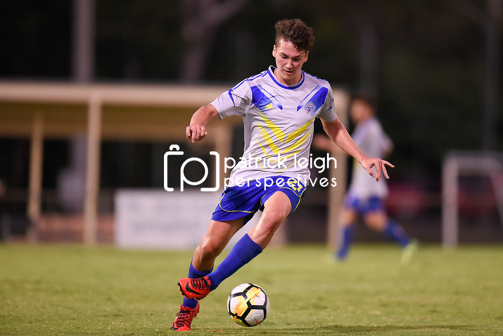 BRISBANE, AUSTRALIA - JANUARY 18:  during the Kappa Silver Boot Group A match between Capalaba Bulldogs and Brisbane Strikers on January 18, 2017 in Brisbane, Australia. (Photo by Patrick Kearney)