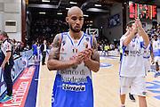DESCRIZIONE : Beko Legabasket Serie A 2015- 2016 Dinamo Banco di Sardegna Sassari -Vanoli Cremona<br /> GIOCATORE : David Logan<br /> CATEGORIA : Ritratto Esultanza Postgame<br /> SQUADRA : Dinamo Banco di Sardegna Sassari<br /> EVENTO : Beko Legabasket Serie A 2015-2016<br /> GARA : Dinamo Banco di Sardegna Sassari - Vanoli Cremona<br /> DATA : 04/10/2015<br /> SPORT : Pallacanestro <br /> AUTORE : Agenzia Ciamillo-Castoria/L.Canu