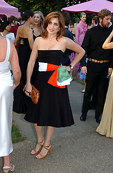 VANESSA NEUMANN at the Serpentine Gallery Summer party sponsored by Yves Saint Laurent held at the Serpentine Gallery, Kensington Gardens, London W2 on 11th July 2006.<br /><br />NON EXCLUSIVE - WORLD RIGHTS