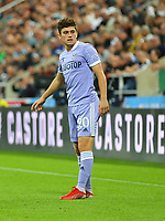 NEWCASTLE UPON TYNE, ENGLAND - SEPTEMBER 17: Daniel James of Leeds United during the Premier League match between Newcastle United and Leeds United at St. James Park on September 17, 2021 in Newcastle upon Tyne, England. (Photo by MB Media)
