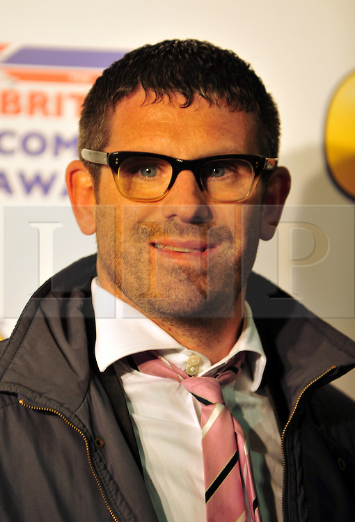 © Licensed to London News Pictures. 16/12/2011. London, England. Dan Skinner aka Angelos Epithemiou attends the Channel 4 British Comedy Awards  in Wembley London .  Photo credit : ALAN ROXBOROUGH/LNP