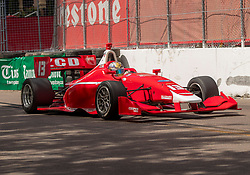 March 9, 2019 - St. Petersburg, FL, U.S. - ST. PETERSBURG, FL - MARCH 09:  driver Zachery Claman (13) during the Indy Lights Race of St. Petersburg on March 9 in St. Petersburg, FL. (Photo by Andrew Bershaw/Icon Sportswire) (Credit Image: © Andrew Bershaw/Icon SMI via ZUMA Press)