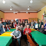 """Members of the centre for the elderly """"Gaudium et Spes"""" in  Nowa Huta, Kraków. <br /> <br /> os. Górali, Nowa Huta, Kraków, Poland  low to average income, elementary to University education <br /> <br /> Pensioners"""