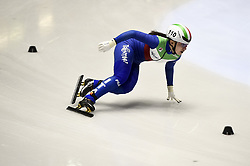 February 8, 2019 - Torino, Italia - Foto LaPresse/Nicolò Campo .8/02/2019 Torino (Italia) .Sport.ISU World Cup Short Track Torino - 3000 meter Ladies Relay Quarterfinals.Nella foto: Arianna Sighel..Photo LaPresse/Nicolò Campo .February 8, 2019 Turin (Italy) .Sport.ISU World Cup Short Track Turin - 3000 meter Ladies Relay Quarterfinals.In the picture: Arianna Sighel (Credit Image: © Nicolò Campo/Lapresse via ZUMA Press)