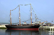 The Jeanie Johnston Replica Famine ship pictured at Fenit, Co. Kerry, Ireland..© Picture by Don MacMonagle .Tel: 00+353+64+32833.6 PORT ROAD, KILLARNEY, CO. KERRY IRELAND