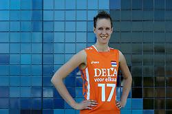 02-06-2010 VOLLEYBAL: NEDERLANDS VROUWEN VOLLEYBAL TEAM: ALMERE<br /> Reportage Nederlands volleybalteam vrouwen / Nicole Koolhaas<br /> ©2010-WWW.FOTOHOOGENDOORN.NL