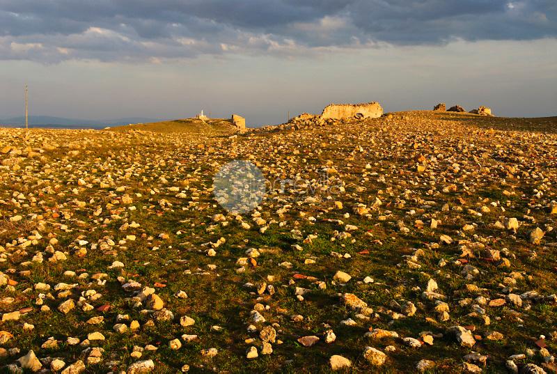 Campos  con piedras.   Peñas de San Pedro. Albacete
