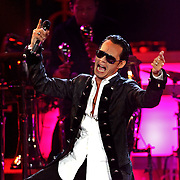 Marc Anthony performs during the Jennifer Lopez and Marc .Anthony : Superstar Tour Concert at the .Amway Arena in Orlando, Florida on November 4, 2007..(photo Alex Menendez)