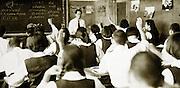 junior high school class Japan 1958