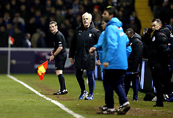 Ipswich Town manager Mick McCarthy looks frustrated during the loss to Lincoln City - Mandatory by-line: Robbie Stephenson/JMP - 17/01/2017 - FOOTBALL - Sincil Bank Stadium - Lincoln, England - Lincoln City v Ipswich Town - Emirates FA Cup third round replay