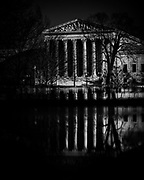 WASHINGTON, D.C. - DECEMBER 10: The US Supreme Court is seen from the east front of the US Capitol building in Washington, D.C. on December 10, 2020.