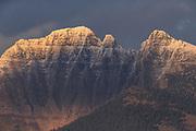 Mission Mountains, Montana.
