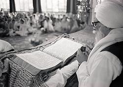 Sikh temple, Nottingham UK 1985