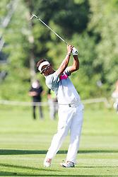 25.06.2015, Golfclub München Eichenried, Muenchen, GER, BMW International Golf Open, im Bild Thongchai Jaidee (THA) auf dem Fairway // during the BMW International Golf Open at the Golfclub München Eichenried in Muenchen, Germany on 2015/06/25. EXPA Pictures © 2015, PhotoCredit: EXPA/ Eibner-Pressefoto/ Kolbert<br /> <br /> *****ATTENTION - OUT of GER*****