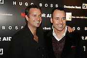 James Houston and David Furnish, MOVE FOR AIDS HOSTED BY ELLE MACPHERSON & DAVID FURNISH. Koko, Camden High St. London. 7/11/06. ONE TIME USE ONLY - DO NOT ARCHIVE  © Copyright Photograph by Dafydd Jones 66 Stockwell Park Rd. London SW9 0DA Tel 020 7733 0108 www.dafjones.com