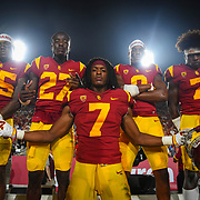 USC Football beats Stanford in 2018.