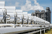 Solar and Natural Gas Power Generation Facilty