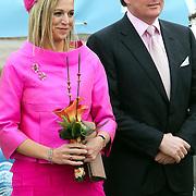 NLD/Makkum/20080430 - Koninginnedag 2008 Makkum, prinses Maxima en partner Willem Alexander