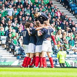 Hibernian v Falkirk, Scottish Cup Semi Final, 13/4/2013