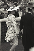 The Princess of Wales. the Derby. Epson, 4 June 1986