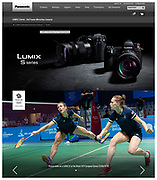 Badminton during the Minsk European Games in Belarus shot for Team GB & Panasonic. Captured with the Lumix S1 | June 2019.