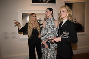 LAURA BAILEY; ERIN O'CONNOR; EVA HERZIGOVA, Vogue100 A Century of Style. Hosted by Alexandra Shulman and Leon Max. National Portrait Gallery. London. WC2. 9 February 2016.