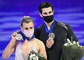 March 27, 2021 - SWE: ISU World Figure Skating Championships - Stockholm: Day Four