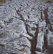 AJEM6F Limestone pavement Yorkshire Dales national park England