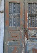Syros,Greece a Greek Cyclades Island Architecture details, greek architecture