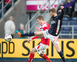 Falkirk's Rory Loy.<br /> Falkirk 2 v 1 Brechin City, Scottish Cup fifth round game played today at The Falkirk Stadium.