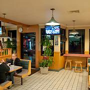 Steve's pizza pizzeria interior In Falmouth, Cape Cod