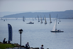 Largs Regatta Festival 2019<br /> <br /> Boats heading home from the Round Cumbraes Race