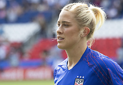 Abby DAHLKEMPER (USA) during the warm-up of the match of 2019 FIFA Women's World Cup France group F match between USA and CHILE, at Parc Des Princes stadium on June 16, 2019 in Paris, France. Photo by Loic BARATOUX/ABACAPRESS.COM