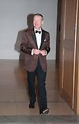 TERRY HUGHES, Mark Weiss dinner, Nationaal Portrait Gallery. London. 15 October 2012.