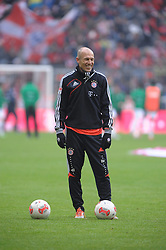 19-01-2013 VOETBAL: FC BAYERN MUNCHEN - GREUTHER FUERTH: MUNCHEN<br /> Arjen Robben <br /> ***NETHERLANDS ONLY***<br /> ©2013-FotoHoogendoorn.nl