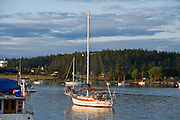 Sailboats, Lopez Island, San Juan Islands, Washington State