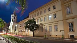 Fundado em 1869 por Jesuítas, o prédio onde funciona a sede institucional da Unisinos, já serviu como base do colégio Conceição, reduto de descendentes de alemães. FOTO: Lucas Uebel/Preview.com