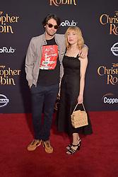 July 30, 2018 - Burbank, Kalifornien, USA - Alex Ross Perry und Anna Bak-Kvapil bei der Premiere des Kinofilms 'Christopher Robin' in den Walt Disney Studios. Burbank, 30.07.2018 (Credit Image: © Future-Image via ZUMA Press)