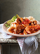 British Food - Liver & Bacon Casserole